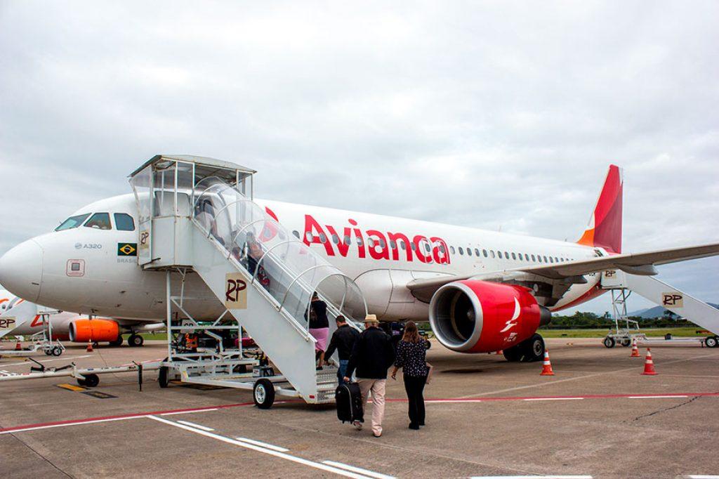 Avião Avianca - Aeroporto Internacional de Navegantes