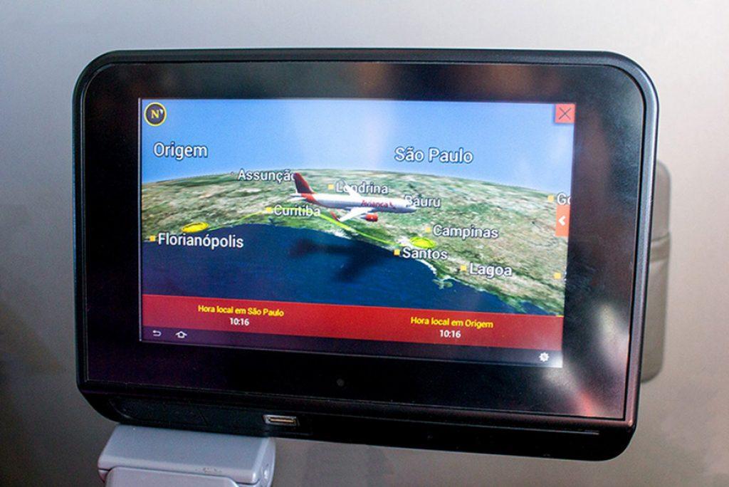 Tv de Entretenimento - Viação Avianca