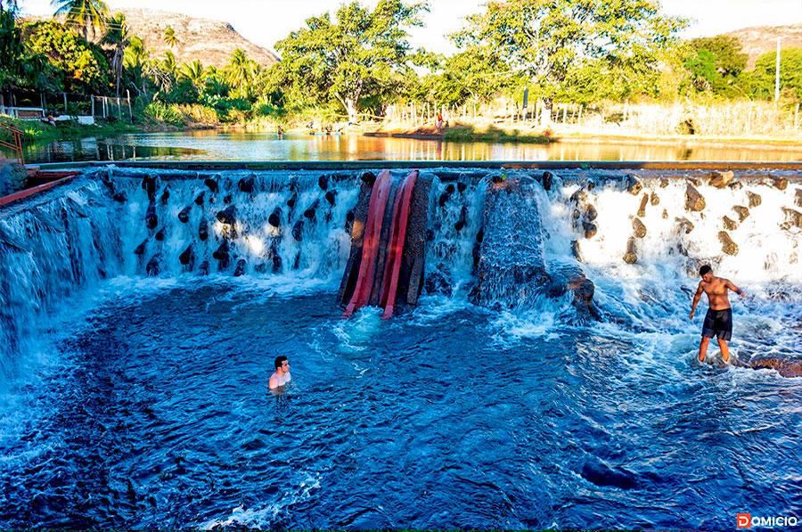 Piscina do Balneário Rio Paramirim