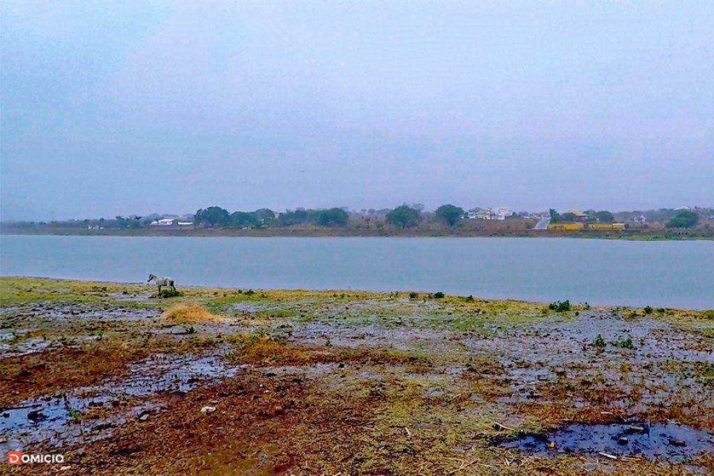 Chuva na Lagoa de Paramirim