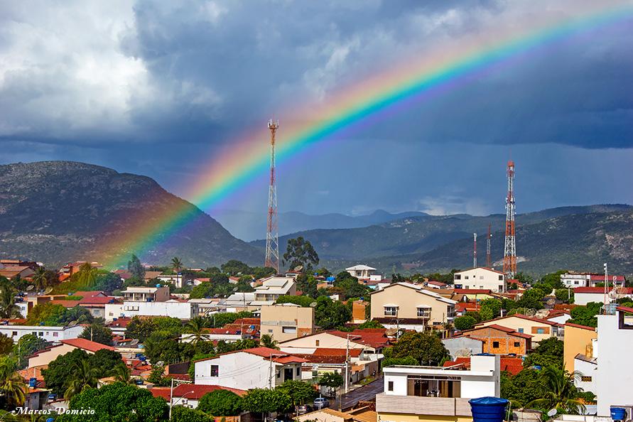 Chuva com Arco-Íris em Paramirim