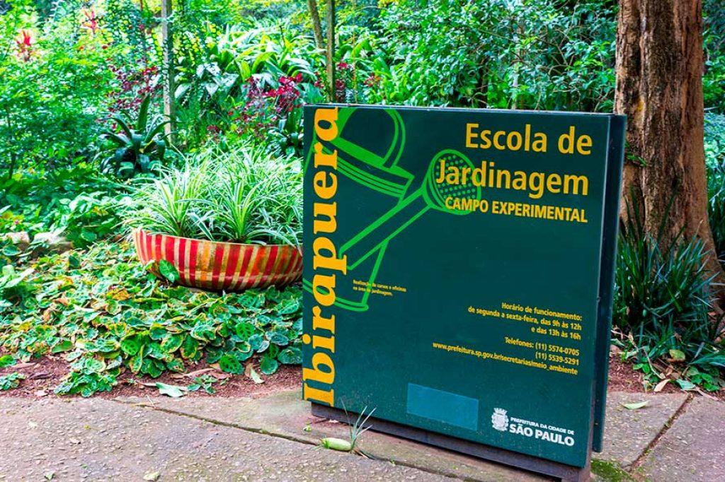 Escola de Jardinagem Campo Experimental