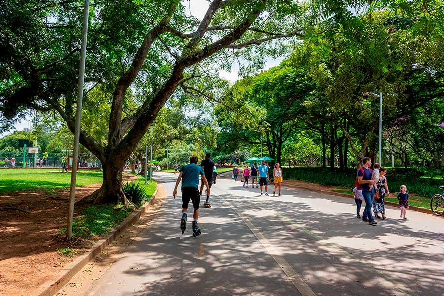Andar de Patins e Skate no Parque Ibirapuera